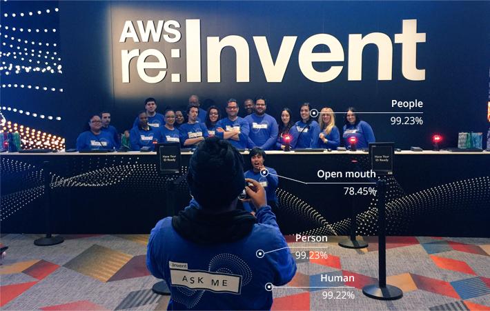 AWS AI Rekognition