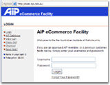 eCommerce facility proves popular for the AIP.