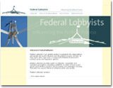 A site for Federal Lobbyists.