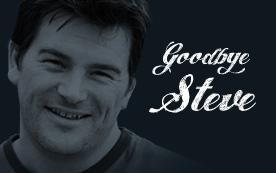 Steve has left the building - sort of