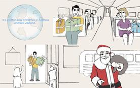 Link's Christmas eCard for the ARA