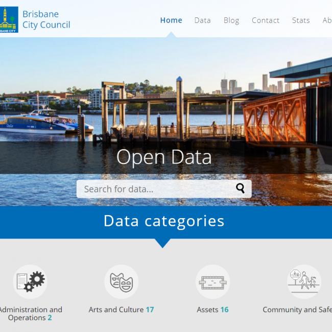 Brisbane City Council Open Data Portal